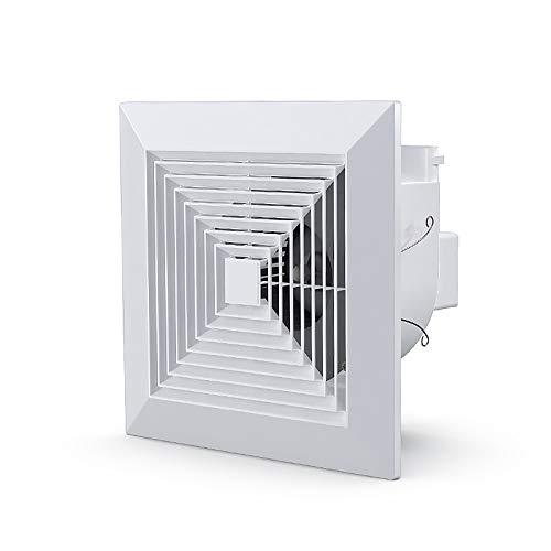 BTOPER Ventilador de Escape Cuadrado de 8 Pulgadas, 200 mm de Escape Ventilador de Techo Extractor de Techo Ventilador de ventilación para el baño ático Ventana de la Cocina del sótano