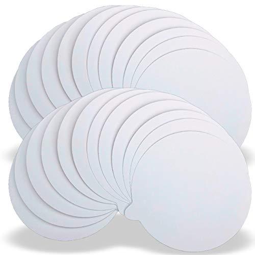 Fly-Bye 24x Discos/Almohadillas de Reemplazo para Trampas de Pulgas – Paquete ECONOMICO