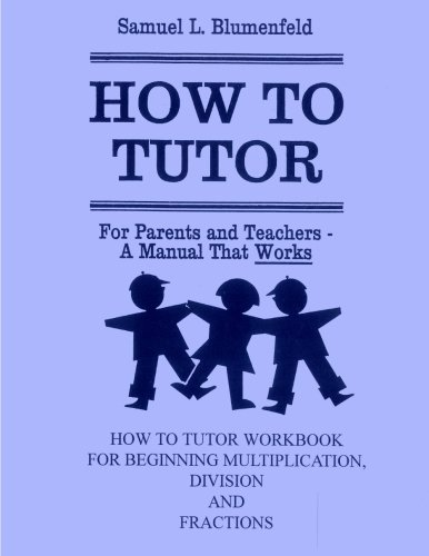 How To Tutor Workbook For Multiplication Division And Fractions