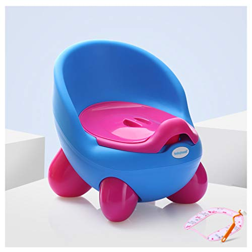 Apprentissage de la propreté Toilette pour Enfant Toilette pour garçon Toilette pour Enfant Toilette pour Enfant Toilette pour Enfant Femme Toilette pour bébé (Couleur : Bleu)