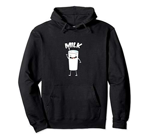 Milk Glass Halloween Lustiges Wortspiel Geschenk Pullover Hoodie