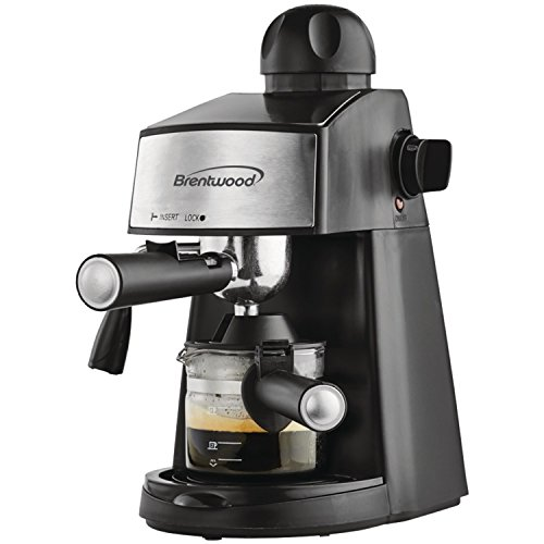 Brentwood  GA-125  Espresso  and  Cappuccino  Maker,  Black