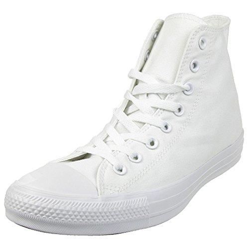 Converse Ctas Mono Hi 015470-610-8 Unisex - Erwachsene Sneaker, Bianco (Weiß), 37