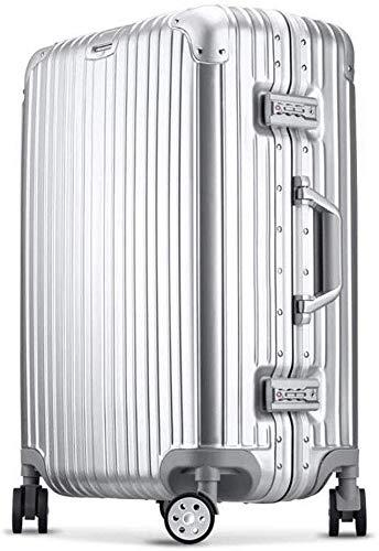 Maleta Trolley maleta del recorrido del ABS + PC universal de la rueda de 20 pulgadas / 24 / contraseña de 28 pulgadas Caja de alto grado de marco de aluminio de Aduanas de bloqueo Maleta de 360 gra
