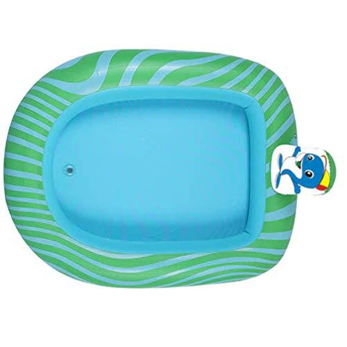 CLISPEED Spring Float Aufblasbares Wasser Schwimmende Hängematte Tragbare Pool Lounge Float Sommer Strand Schwimmspielzeug (Delphin Muster L)