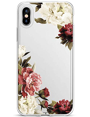 Lajer Hülle Schutzhülle für Apple iPhone XS Max XS XR X Handyhülle Ultra Dünn Transparent Flexibel Weich TPU Silikon Stoßfest mit süßes Motiv Crystal Handytasche Clear Case Cover (iPhone XS, Farbe-8)