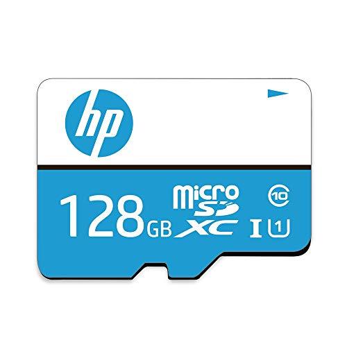 Cartao de Memoria MicroSD 128GB C10 U1, HP, Cartões SD