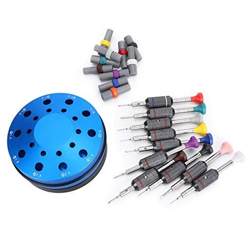 Juego de destornilladores para el hogar para el reloj, herramienta de reparación de relojes, juego de destornilladores de reloj profesional Herramientas y equipos de mano