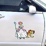 Toy Story - Little Bo Peep - Cartoon Auto Autoaufkleber Aufkleber - 18 Cm Hoch
