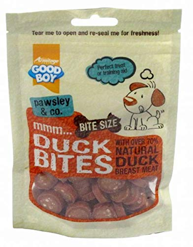 Good Boy Duck Flavoured Deli Bites for Dogs 65g