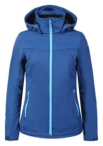 ICEPEAK Softshell-jacke für damen BOISE, marinenblau, 40