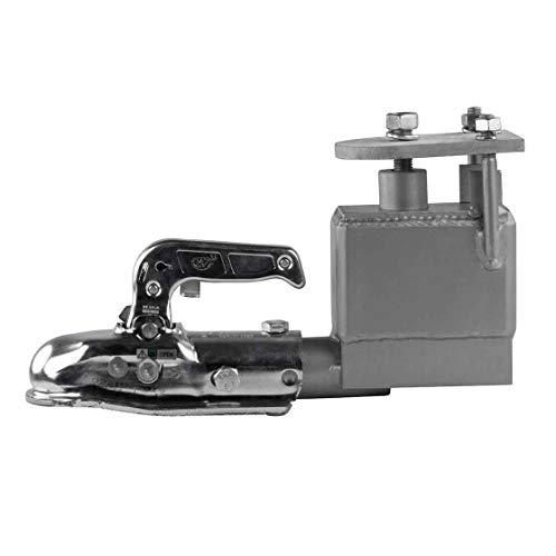 Adapter Ringöse-Kugelkopf, Anhänger, 3000 KG, 10 cm Höhenausgleich, Anhängerzubehör, Anhängeradapter, mit oder ohne Höhenausgleich, Anhängerkopf