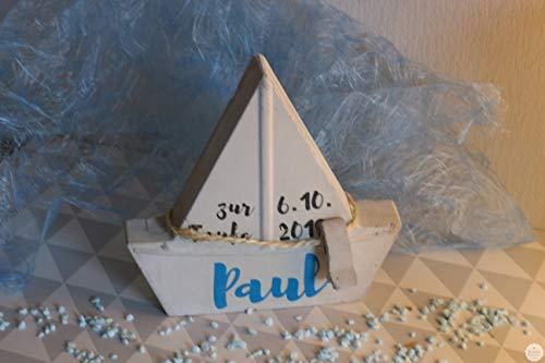 Beton Schiff | Geschenk | Taufe | Kommunion | Geburt