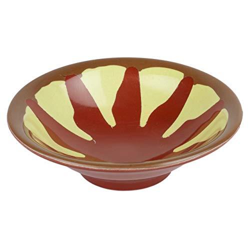 Alibabashop - Original Mezzeteller aus Melamin -Tapas Schale mit ca. 13 cm Durchmesser - Traditioneller Mezze Teller für orientalische Vorspeisen wie Hummus und Auberginenpüree