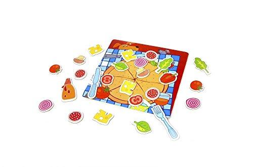 Classic World Comida, pizza, juguete, tienda de la compra, cocina, accesorios de cocina, imán