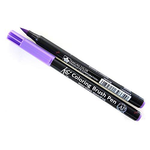 NEU Koi Coloring Brush Pen, Lavendel