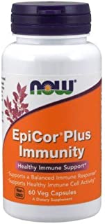 EpiCor Plus Immunity, 60 Vcaps by Now Foods (Pack of 6)