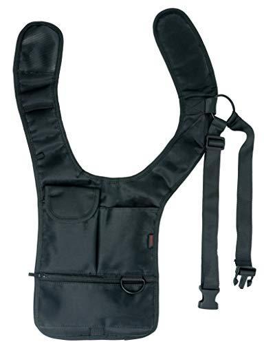 System-S Unterarm Tasche Schultertasche für Tablet PC Smartphone, schwarz, 53234320