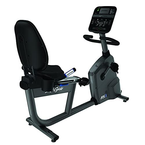 Life Fitness - Bicicleta estática RS3 con Consola Track Connect