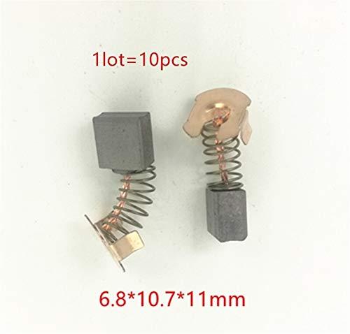 Accesorios de motor Cepillos de carbono for Makita CB441 CB-441 CB-432 194435-6 BHR241 BHR202 BHR202Z BR202RFE3 BHR202RFE BHS630 BHS630Z BHS630RFE Pieza de herramienta eléctrica ( Color : 10PCS 441 )