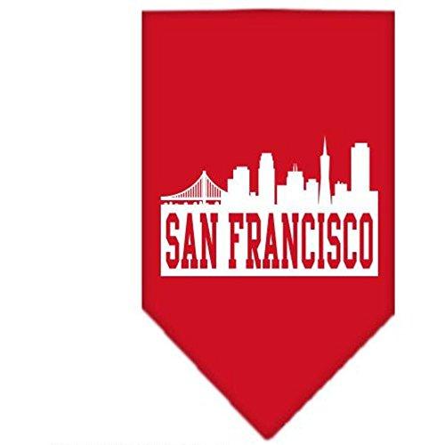 Mirage San Francisco Skyline écran Imprimé Bandana
