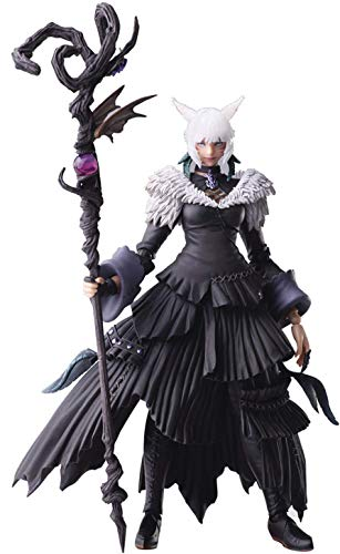 Square Enix Final Fantasy XIV: Y'shtola Bring Arts Action Figure, Multicolore