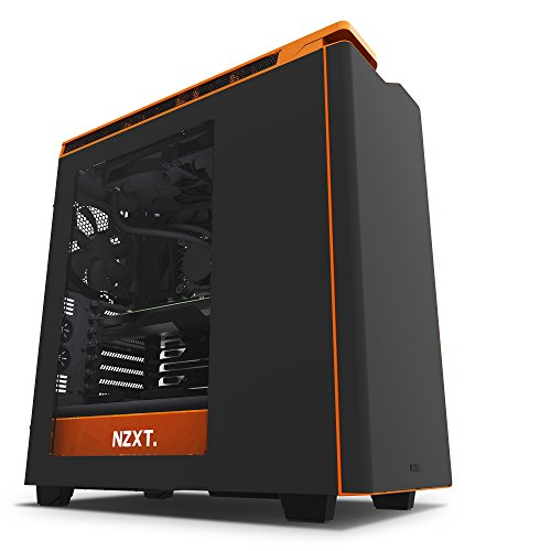 NZXT CA-H442W-TH H440 Razer Edition  - Caja de ordenador formato ATX con ventana e iluminación especial razer, Negro