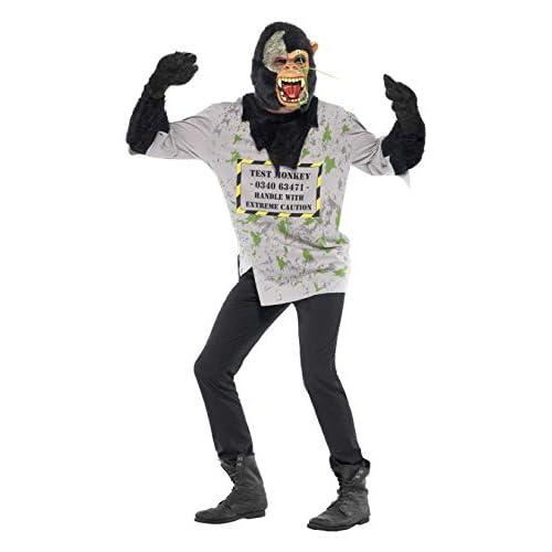 SMIFFYS Mutant Scimmia Costume superiore del Smiffy con pelliccia armi e Maschera - Medium