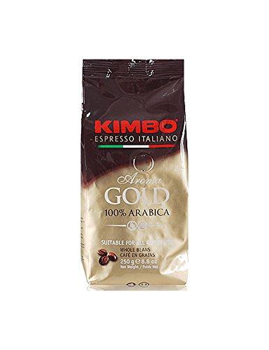 KIMBO Kaffee 100% ARABICA Gold Medal Bohnen 4er Pack (4 x 250 g)
