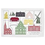 artboxONE Poster 150x100 cm Städte Flensburg Skyline