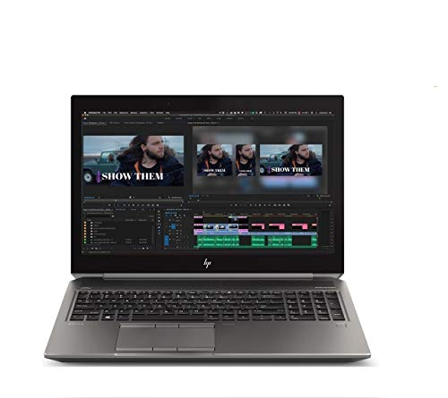 2020 HP ZBook 15 G5 15.6' FHD (1920x1080) Mobile Workstation Laptop (Intel 6-Core i7-8850H, 64GB DDR4 RAM, 2TB PCIe SSD, Quadro P2000) Thunderbolt 3, HDMI, Fingerprint, Backlit, Windows 10 Pro