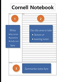 Cornell Notebook: 8.5