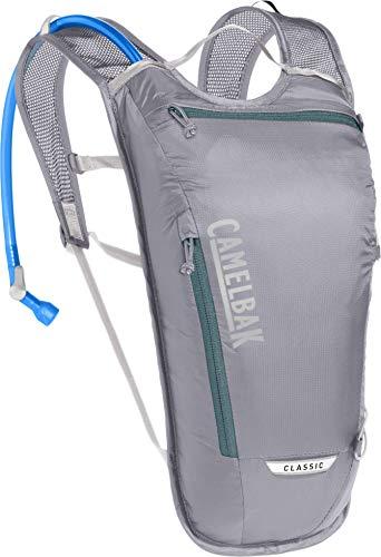 CamelBak Classic Light Bike Hydration Pack 70oz, Gunmetal/Hydro