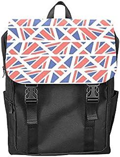Fashion Flip Cover Notebook Flag Country Flag Retro Vintage Design Print Laptop Backpack Travel Men Women Business Computer Backpack Oxford Fabric Vintage School Shoulder Bag