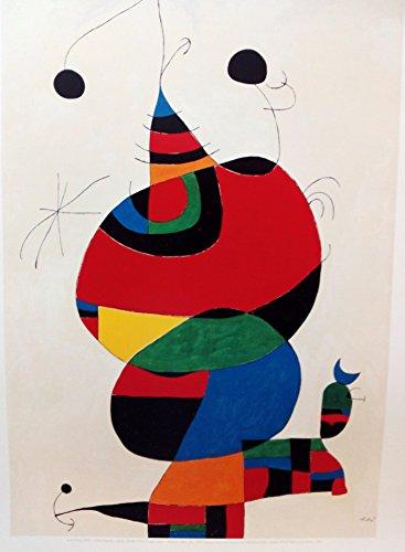 Ediciones BLOK Give Off Sparks. 1970. 50 x 65 cms Art Poster Print Affiches Kunstdruck Lámina Arte. Joan Miró