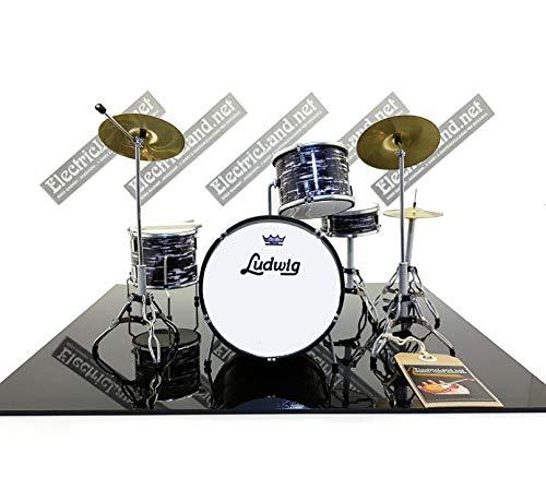 Ludwig - Mini Drum - Juego de batería de modelado clásico para...
