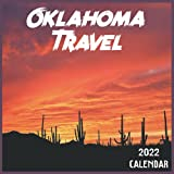 Oklahoma Travel Calendar 2022: 2021-2022 Oklahoma Weekly & Monthly Planner   2-Year Pocket Calendar   19 Months   Organizer   Agenda   Appointment   For Oklahoma Lovers
