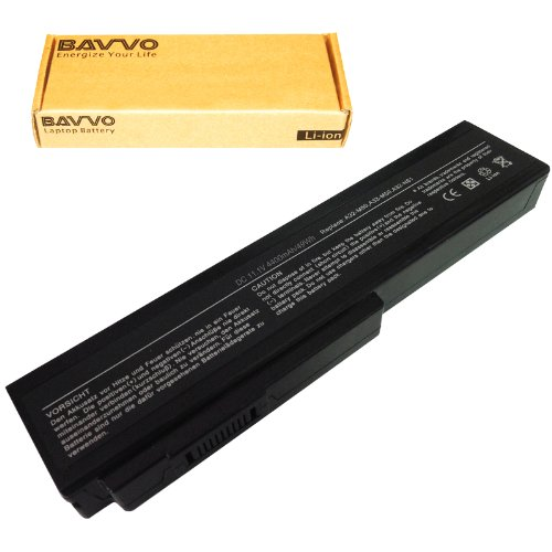 Bavvo Battery Compatible with ASUS G51Vx-X3A