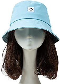 Leepesx Women Hat Fisherman Hat S ley Face Sunbonnet Bu et Hat Hip Pop Casual Fedoras Outdoor Beach Cap