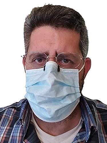 Pinza anti vaho mascarilla (pack de 5 piezas),anti-fog,puente nariz,anti empañamiento,antivaho