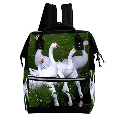 Große Kapazität Baby Wickeltasche Rucksack für Frauen und Mama Geldbörse Reisen Anti-Diebstahl-Rucksack Leichte lässige College-Schultasche für Mädchen 27x19.8x36.5cm Ford-Mustang