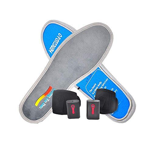 Plantillas Calefactables Bateria Carga USB, Plantillas TéRmicas, Calentador De Pie Plantillas, Para...