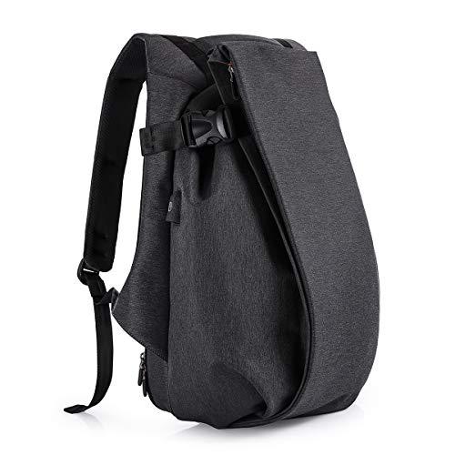 Tocode Laptop Rucksack Anti Diebstahl, 17.3 Casual Individuellkeit Rucksack Reiserucksack, mit USB-Ladeanschluss, wasserdichte große Fach Computer Daypack für Männer Schule/Sport