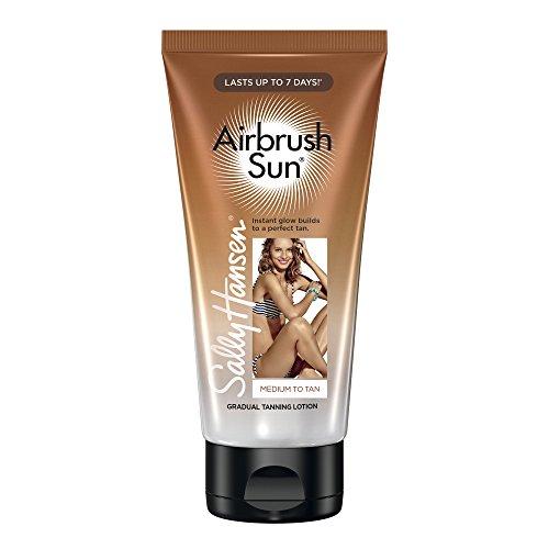 Sally Hansen Airbrush Sun Gradual Tanning Lotion, Medium, 5.9 Ounce, 1 Count