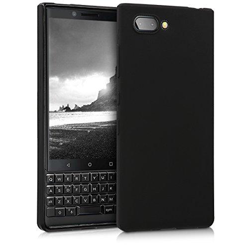 kwmobile Hülle kompatibel mit BlackBerry KEYtwo (Key2) - Hülle Handyhülle - Handy Hülle in Schwarz matt