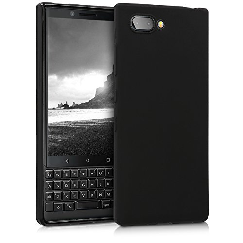 kwmobile BlackBerry KEYtwo (Key2) Hülle - Handyhülle für BlackBerry KEYtwo (Key2) - Handy Case in Schwarz matt