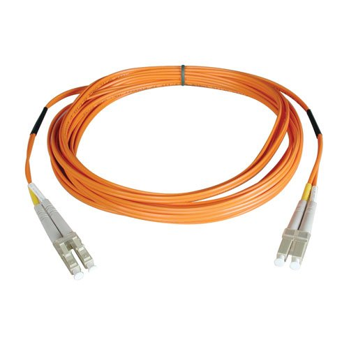 Tripp Lite N520-100M Multimode Duplex 50/125 Fiber Optic Patch Cable LC/LC (100 Meters)