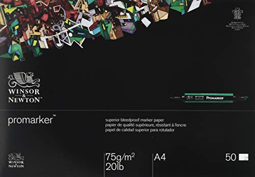 Winsor & Newton Marker Block Durchschlagsicher A4 75g 50 Blatt