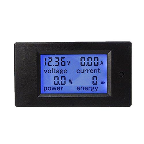 Multifunktion Messgerät Digital LCD Leistungsmesser Multimeter Voltmeter Amperemeter, überall flexibel installiert