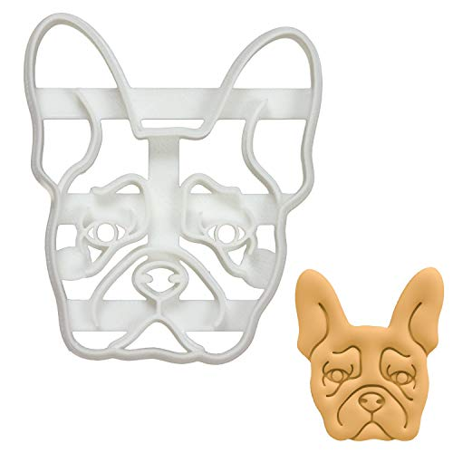 French Bulldog Face cookie cutter, 1 piece - Bakerlogy